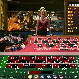 Golden Ball roulette microgaming