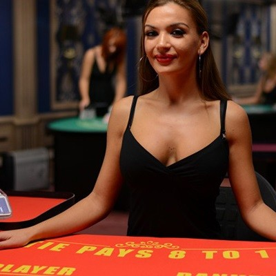 live baccarat by microgaming