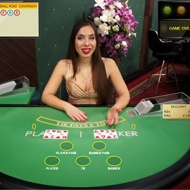 live baccarat by netent
