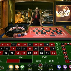 golden ball live roulette