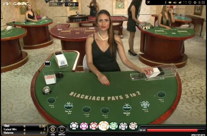 vivo gaming live blackjack